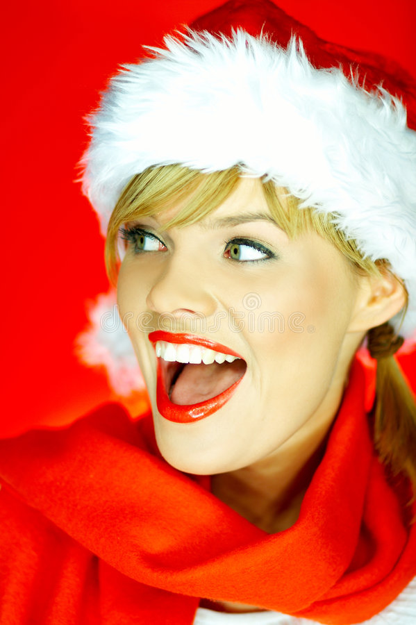 Free Santas Woman Royalty Free Stock Photography - 1510317