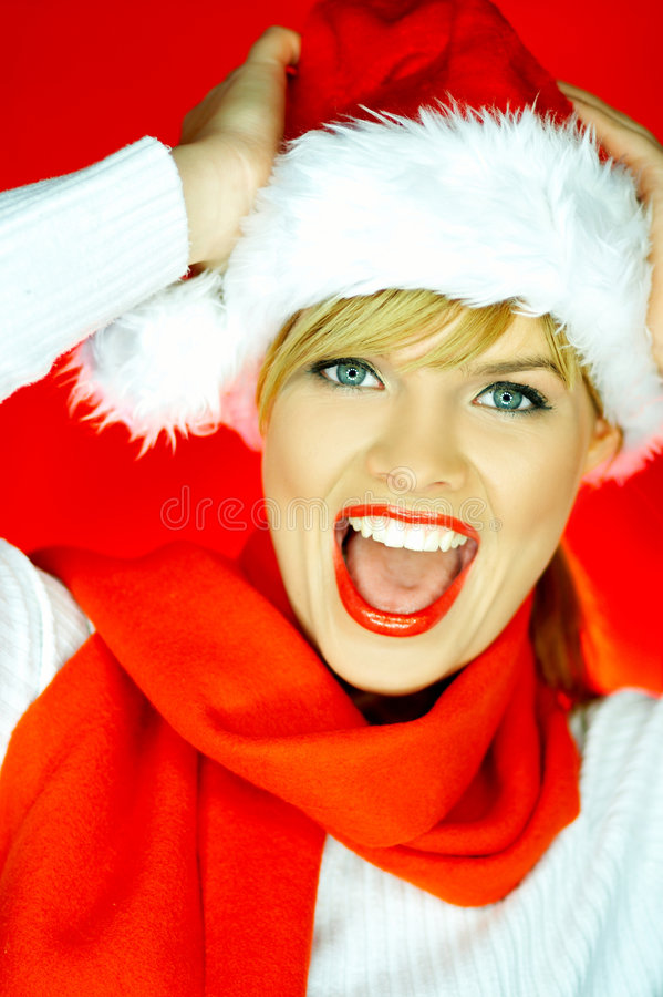 Free Santas Woman Stock Photography - 1510322