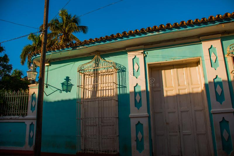 Santeria Israele, Trinidad, Cuba Il santeria è la religione della gente del afro-cubano in Cuba fotografia stock libera da diritti