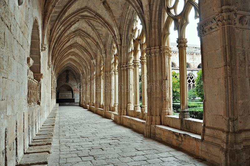 Santes creus-Tarragona royalty-vrije stock afbeeldingen