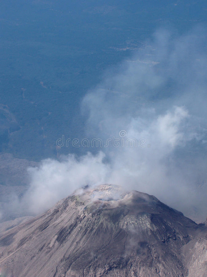 Download Santia Guito stock image. Image of active, plume, mountain - 11170067