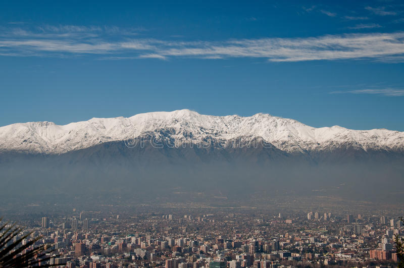 Santiago stock foto