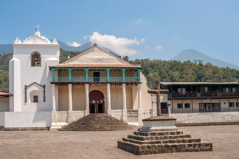 Santiago Atitlan Church royalty free stock photos