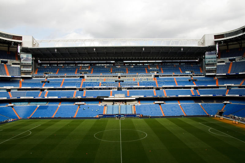 Download Santiago Bernabeu editorial photography. Image of champions - 14220232