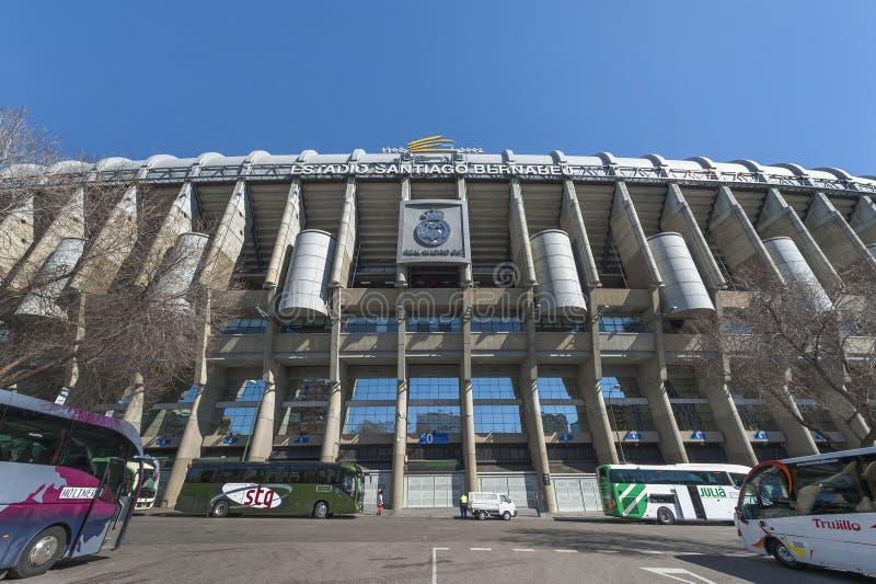 Santiago Bernabeu Arena fotos de stock