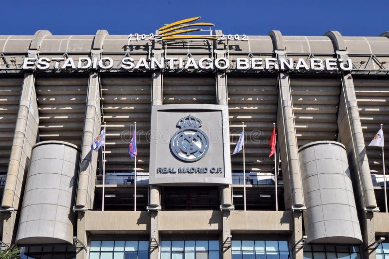 Santiago Bernabeu Stadium stock images