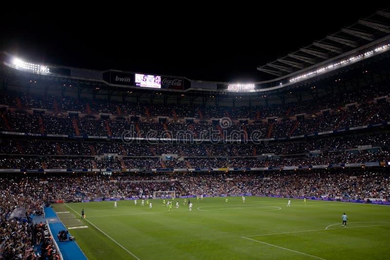 Santiago Bernabeu Stadium stock photo