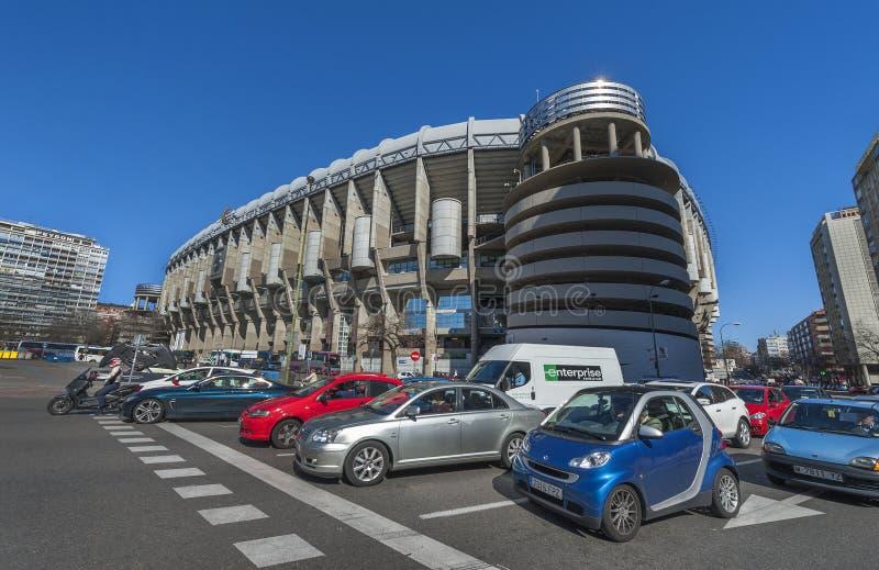 Santiago Bernabeu Stadium royalty free stock image