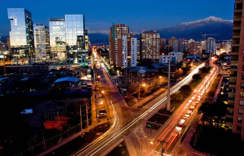Santiago, Chile imágenes de archivo libres de regalías