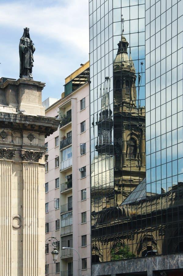 Santiago, Chile imagenes de archivo