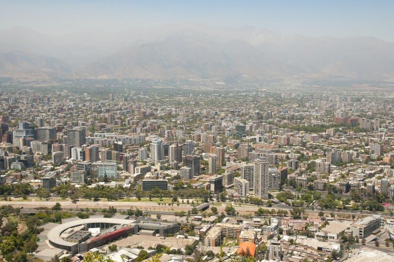 Santiago - Chile fotografia de stock