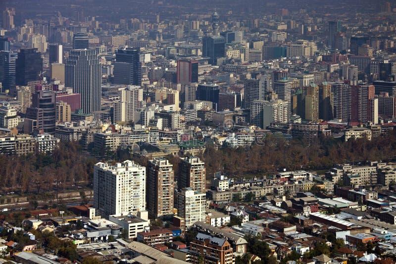 Santiago - Chile - Sydamerika royaltyfri fotografi