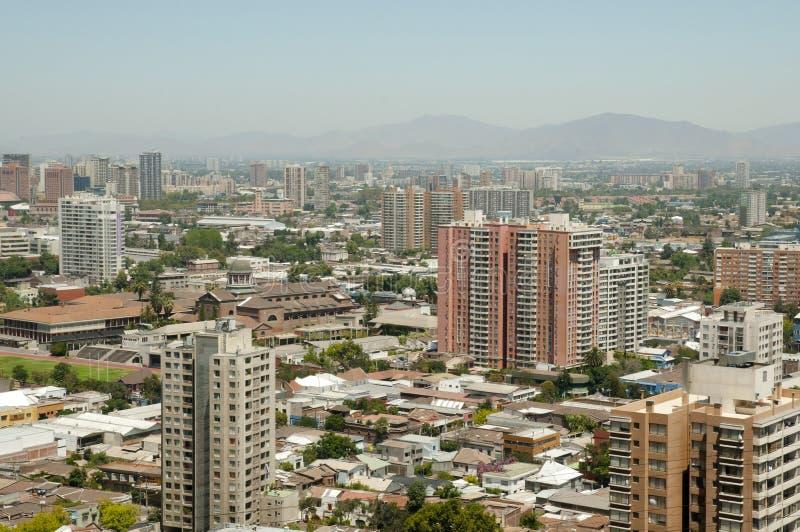 Santiago City Buildings - o Chile imagens de stock royalty free