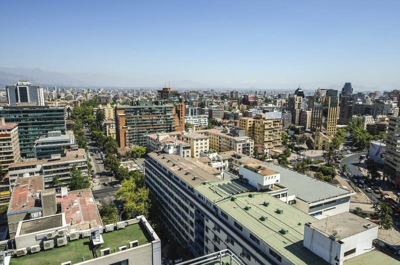 Santiago City Center - le Chili photos stock