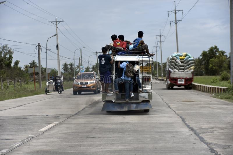 Santiago city, Isabela, Philippines, April 15, 2019, Sanitiago City Sightseeing, the way how do the people live the the city.  stock photos