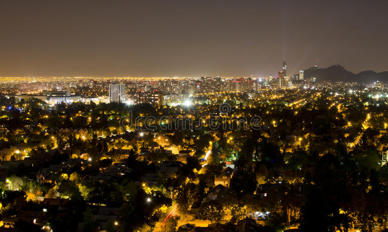 Download Santiago Cityscape Royalty Free Stock Photography - Image: 23749047