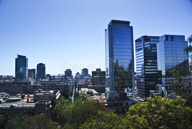 Santiago de Chile imagen de archivo libre de regalías
