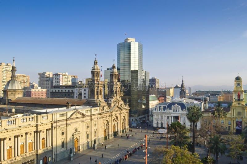 Santiago de Chile (Chile) imagen de archivo libre de regalías
