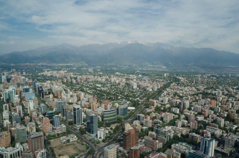 Santiago de Chile, Chili - 15 novembre 2015 : Santiago de Chile photos stock