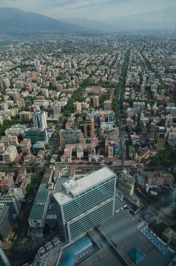 Santiago de Chile, Chili - 15 novembre 2015 : Santiago de Chile photo libre de droits