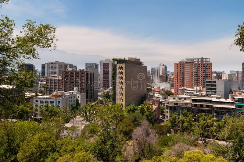 Santiago de Chile Cityscape image stock