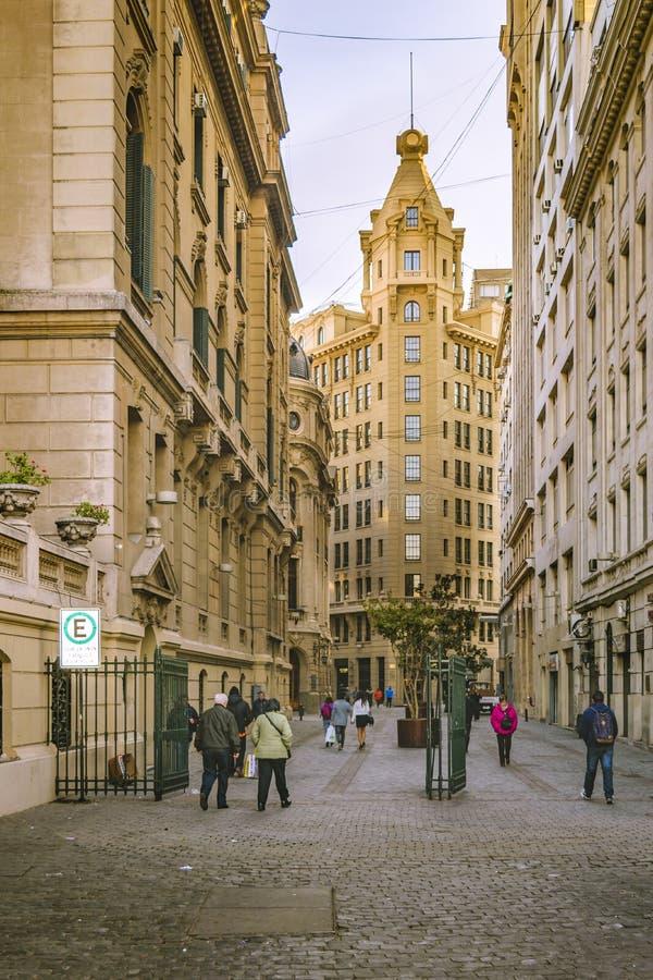 Santiago de Chile Historic Center lizenzfreies stockbild
