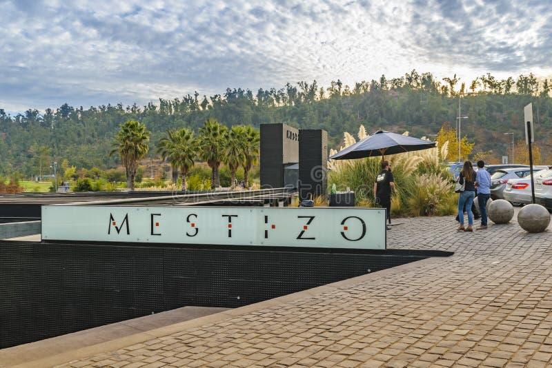Mestizo Restaurant, Vitacura - Santiago de Chile royalty free stock images