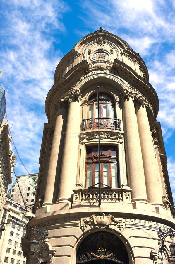 Stock exchange building - Santiago - II -  Chile royalty free stock photos