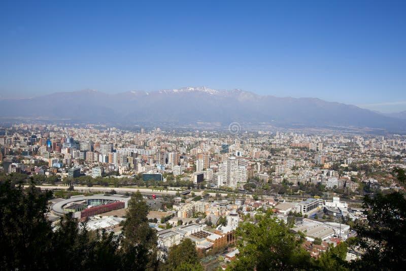 Santiago de Chili images stock