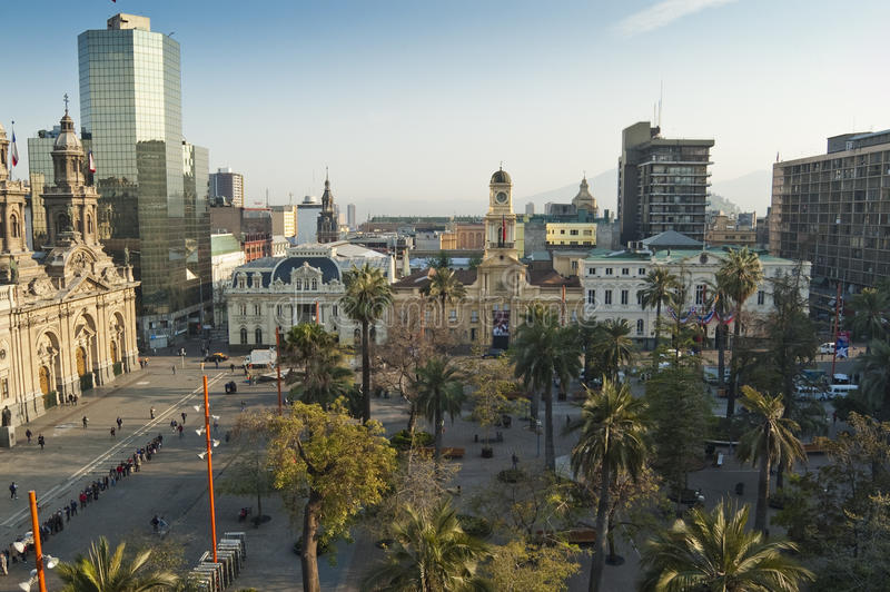 Santiago de Chili (Chili) photos libres de droits