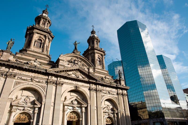 Santiago de Cile immagine stock libera da diritti