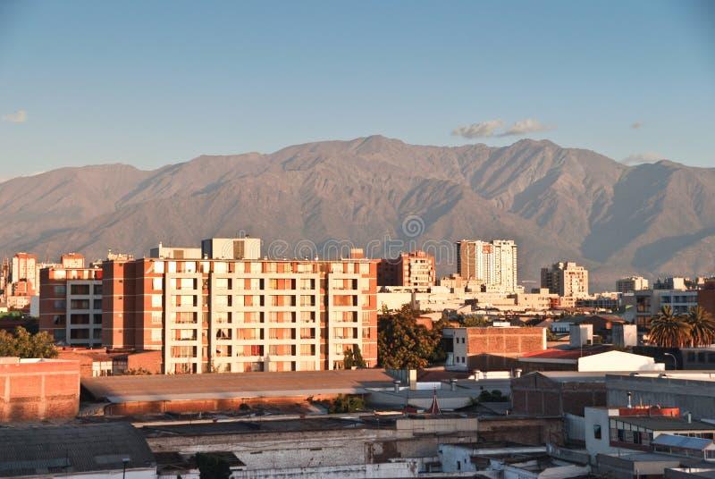 Santiago de Cile fotografia stock