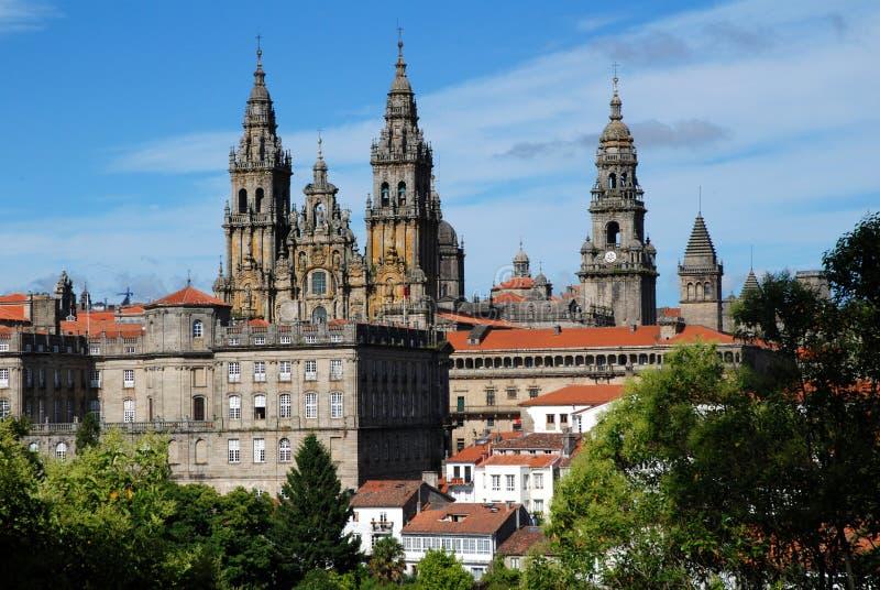 Santiago de Compostela fotos de archivo libres de regalías