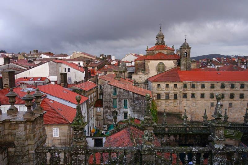 Santiago de Compostela immagine stock