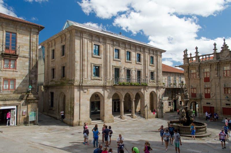 Santiago de Compostela, Spain fotos de stock royalty free