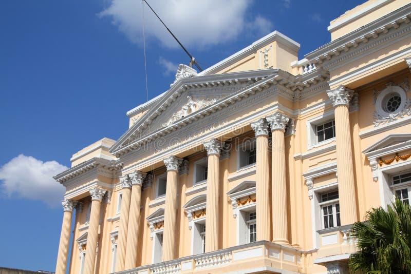 Santiago de Cuba stock afbeelding