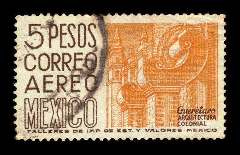 Santiago de Queretaro in Mexico royalty-vrije stock afbeelding