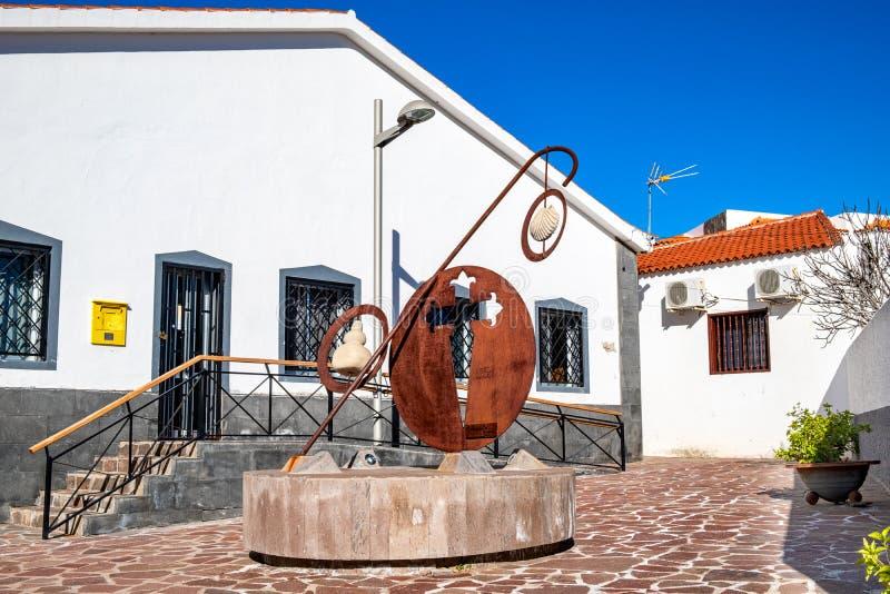 2019-02-09 Santiago del Teide, Santa Cruz de Tenerife imagens de stock royalty free