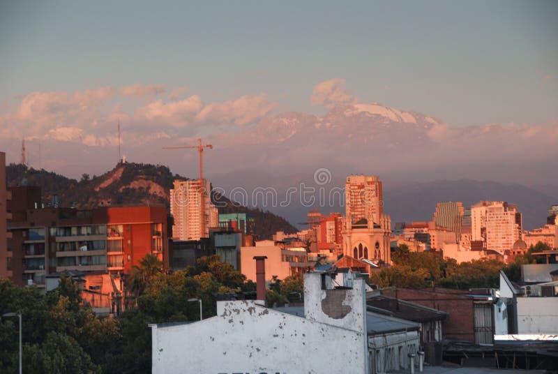 Santiago do Chile imagem de stock royalty free