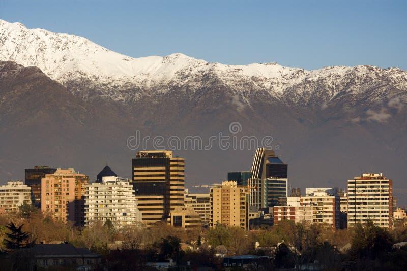 Santiago do Chile foto de stock