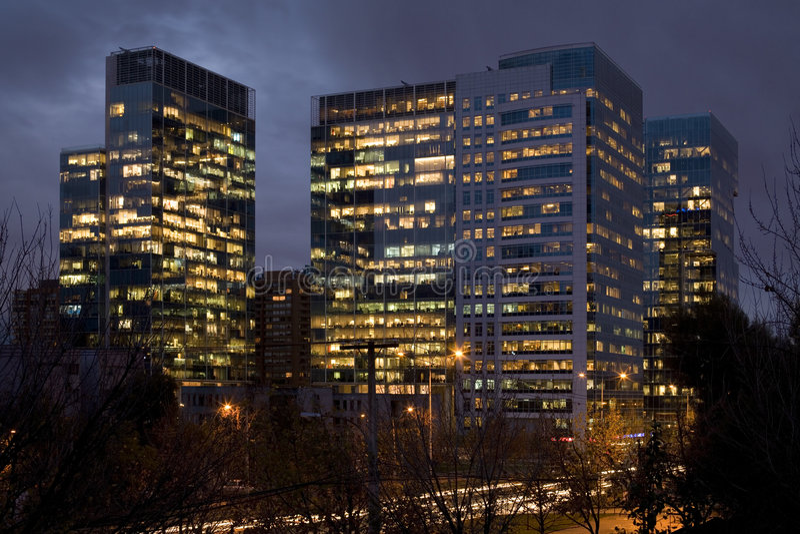 Santiago do Chile fotografia de stock