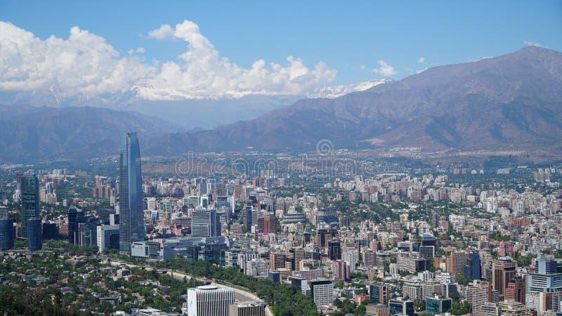 Santiago faz o Chile fotografia de stock royalty free