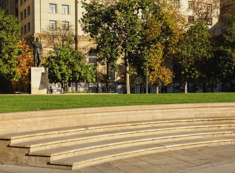 Santiago hace Chile fotografía de archivo libre de regalías