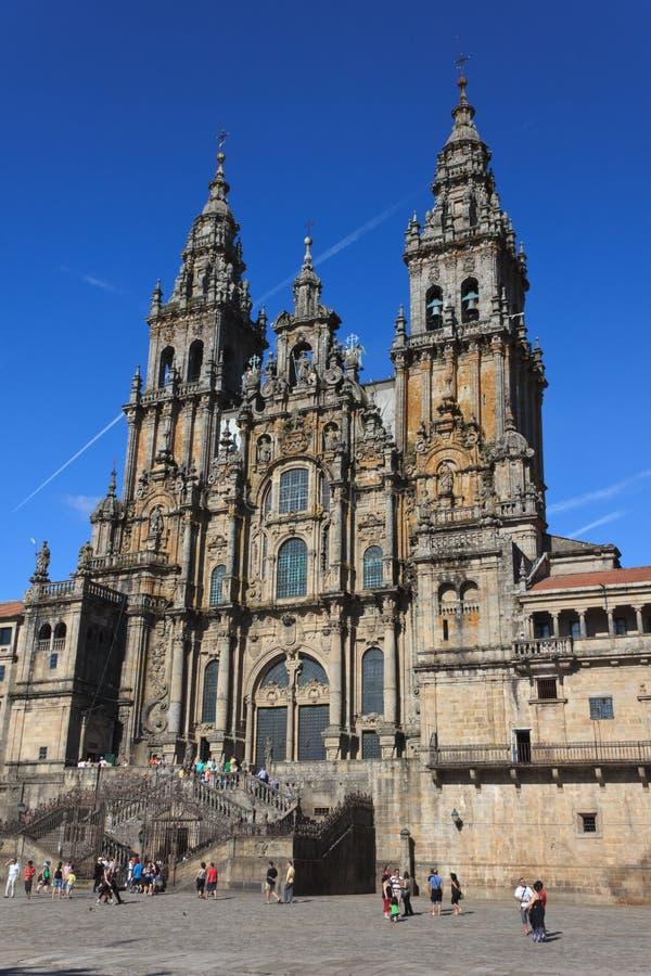 Santiago-Kathedrale stockfotos