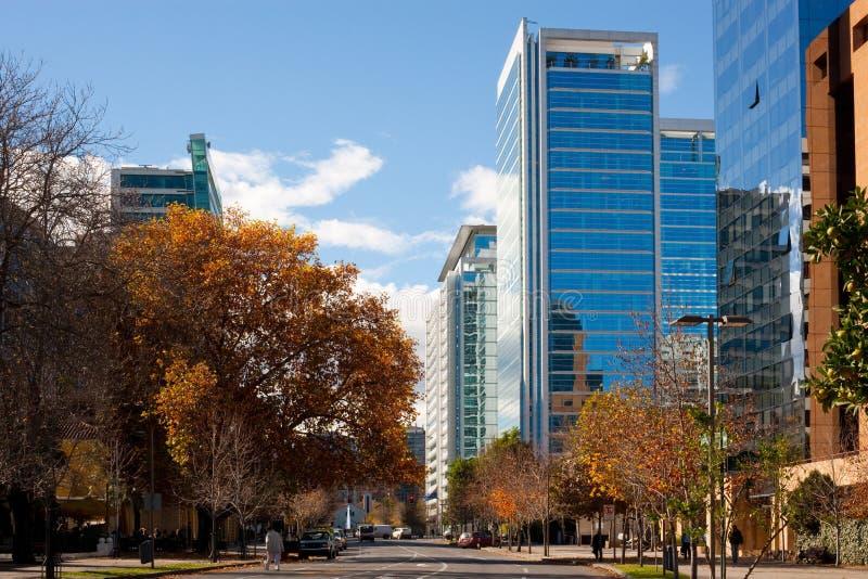 Santiago, o Chile fotografia de stock
