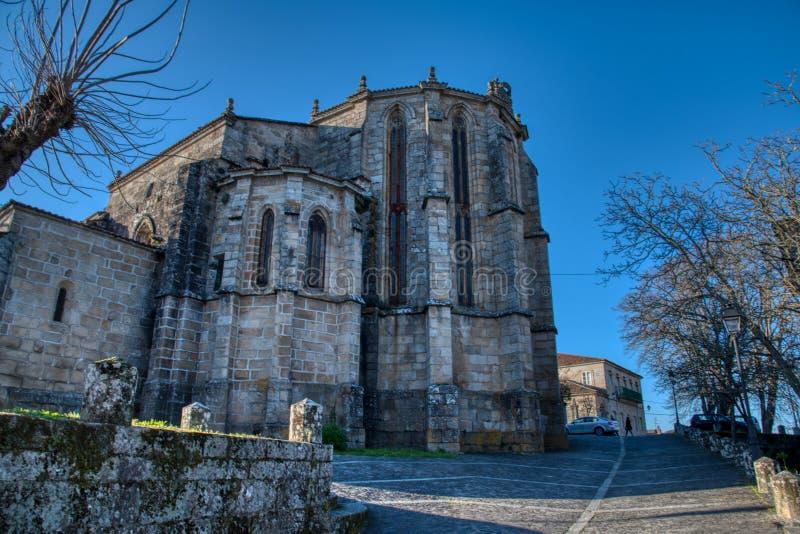 Santiago Ribadavia kościół obrazy stock