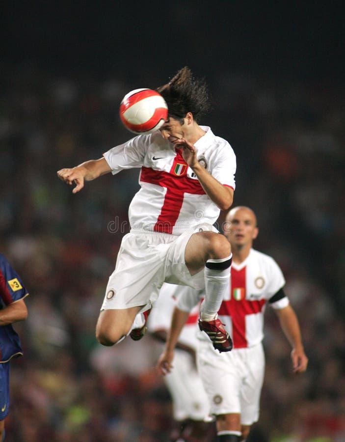Santiago Solari of Inter de Milano