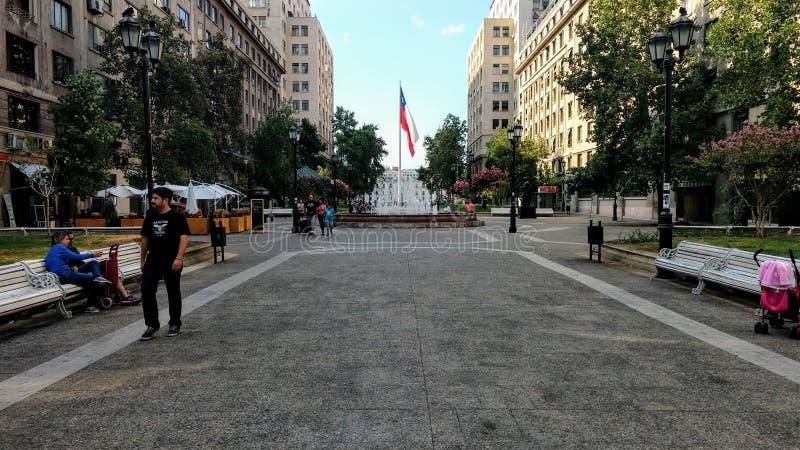 Santiago van Chili royalty-vrije stock afbeeldingen