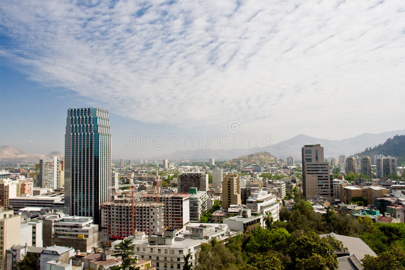 Santiago View royalty free stock images