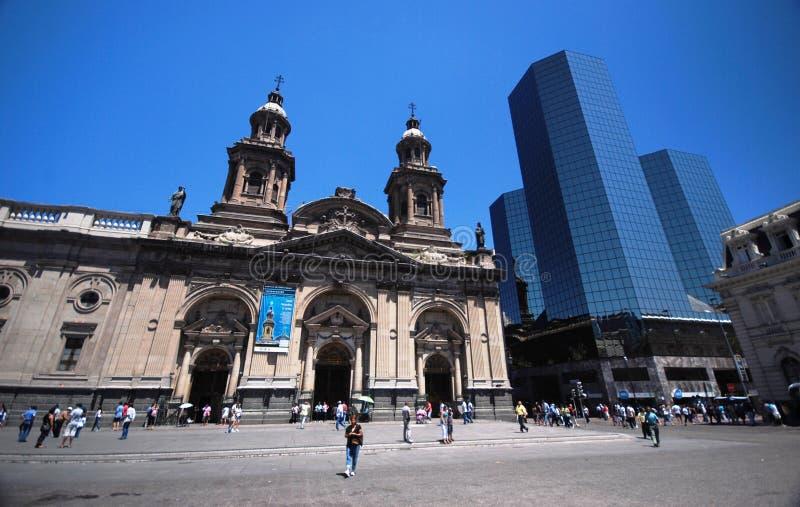 Santiagode Chile stockbild